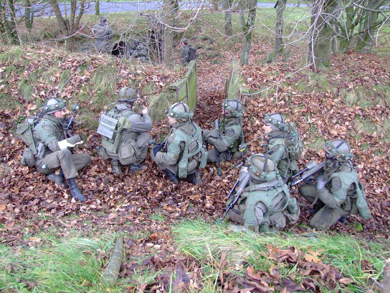 Das Jägerbataillon NÖ übt unter Einsatz neuer Technologien
