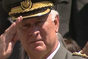 Abschied von Generalmajor CULIK