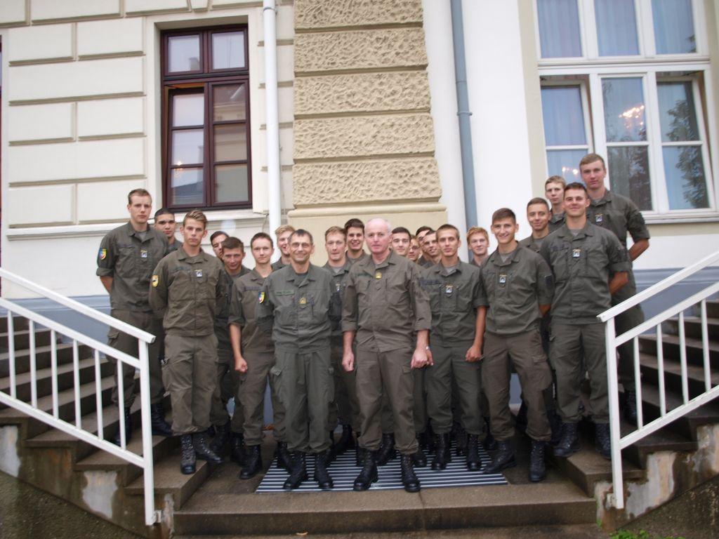 Übernahme der Einjährig Freiwilligen des Jahrganges 2011/12 in das JgB-NÖ KOPAL am 31. August 2012