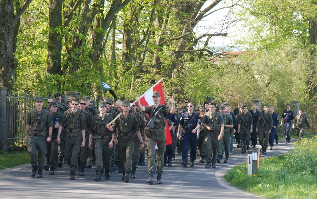 Ausschreibung OSTARRICHI-Marsch von 04.04. – 05.04.2013