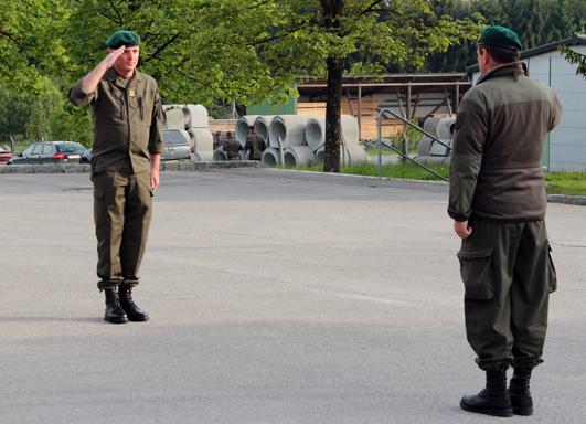 Vorbereitende Milizübung 2014