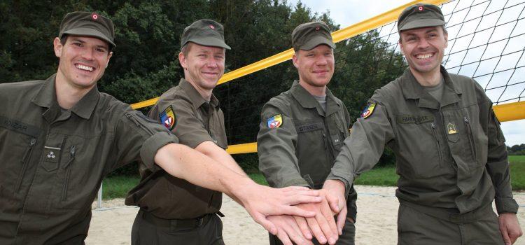Vier Soldaten ‒ eine Leidenschaft