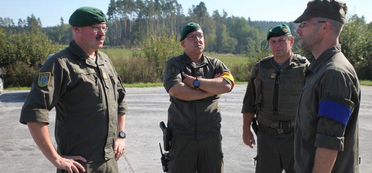Niederösterreichs Militärkommandant beim Jägerbataillon NÖ ‒ Kopal zu Gast